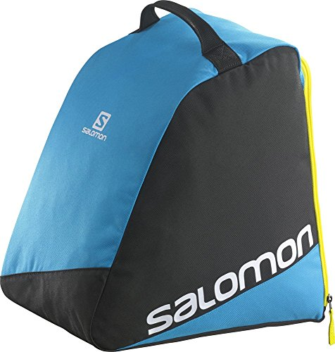 Salomon Original Boot Bag Zaino da Sci, 39 cm, Black/Process Blue/White