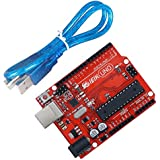 IEIK UNO R3 Board ATmega328P with USB Cable for Arduino - Compatible With Arduino UNO R3 Mega 2560 Nano Robot