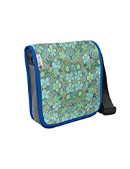 Atrangee Blue Beach Flora City Sling Bag