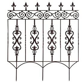 Choose your Stronghold Iron Fence or Gate Product to see details