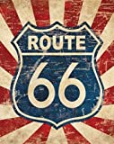 Route 66 I by Harbick, N - fine Art Print on PAPER : 34 x 43 Inches