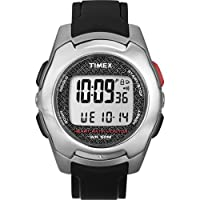 Timex Timex Health Touch HRM Watch - Silver/Black/Red from Timex