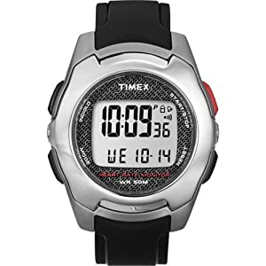 Timex Full-Size T5K470 Health Touch Heart Rate Monitor Watch