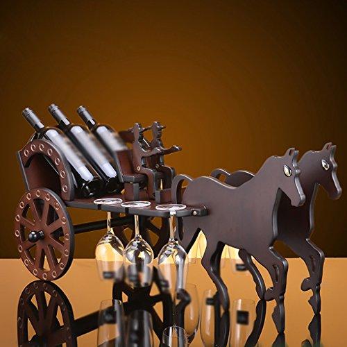 Retro-Holz-Wagen-Weinregal-aus-Holz-Wein-Schrank-Dekoration-Crafts