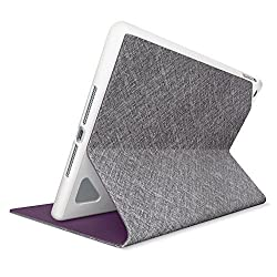 Logitech Hinge Folio Case for iPad Air - Mid-Grey Linen