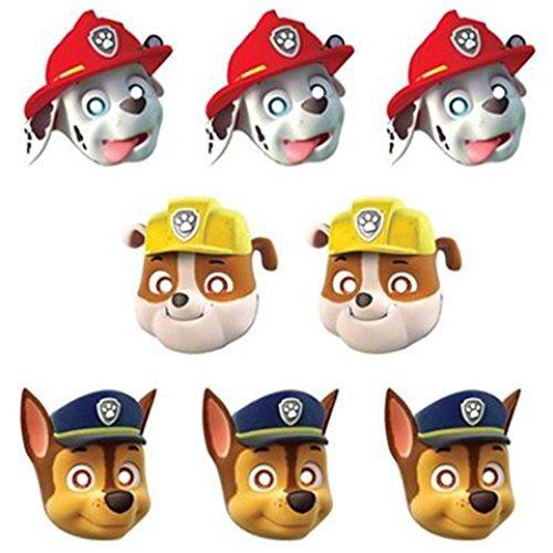 Paw Patrol Paper Masks (8ct) - 1