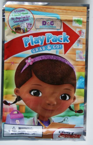 Disney Junior Doc McStuffins Grab and Go Play Pack