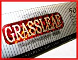 1000 X GRASSLEAF RED TRANSPARENT CIGARETTE PAPERS RIZLA