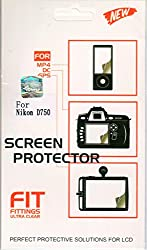 Okayji Ultra Clear Screen Protector / Screen Guard For Camera Nikon D750 SLR