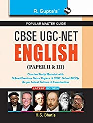 CBSE UGC-NET/SET English (Paper II & III) Exam Guide (CBSE UGC (NET) JRF & Asstt. Professor Exam)
