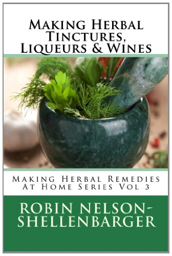 Making-Herbal-Tinctures-Liqueurs-Wines