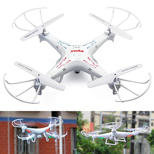 RC Helicopter Quadcopter SYMA X5C-1 (New Upgrade Version X5C) 2.4GHz 4CH 6 Axis Gyro 2GB TF Card with 2MP HD camera With The third Smaller safer Packing Orginal Box - 4 additional Propellers + 2GB TF Card + Card Reader + Tracking Number