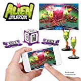 WowWee W0160 AppGear Alien Jail Break Edition Mobile Application Game for Apple or Android Devices - Retail Packaging - Grey