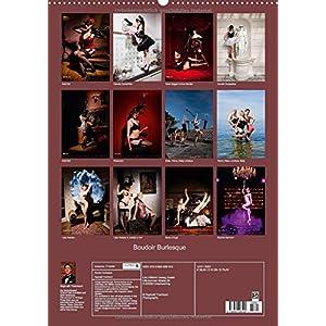 Boudoir Burlesque (Wandkalender 2015 DIN A2 hoch): Showgirls ganz privat (Monatskalen