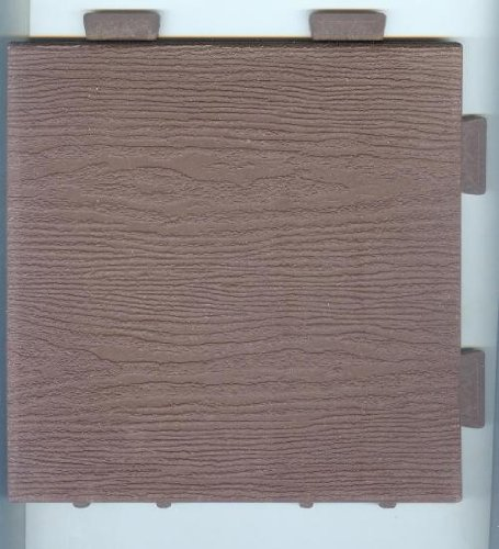 Wood Composite Modular Tile (Brown)