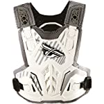 Fly Racing Pivotal Youth Roost Guard Off-Road/Dirt Bike Motorcycle Body Armor - White / One Size