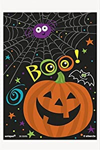 Pumpkin Pals Halloween Treat Bags, Pack of 50