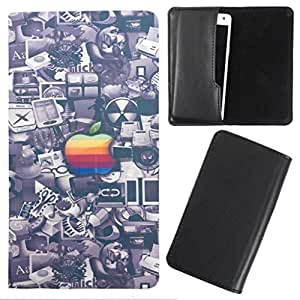 DooDa - For Micromax A68 Smarty PU Leather Designer Fashionable Fancy Case Cover Pouch With Smooth Inner Velvet