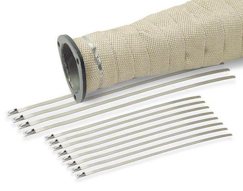 "DEI 010201 8"" Stainless Steel Locking Ties - Pack of 8"