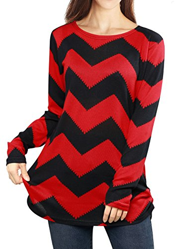 allegra-k-ladies-zig-zag-pattern-loose-knitted-tunic-shirt