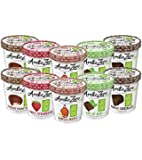 ARCTIC ZERO Fit Frozen Desserts - 10 Pack - Vanilla Maple, Hint of Mint, Purely Chocolate, Chocolate Peanut Buter, Simply Strawberry Creamy Pints