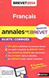 ANNALES BREVET 2014 FRANCAIS