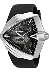 Hamilton Men's H24655331 Ventura XXL Analog Display Swiss Automatic Black Watch
