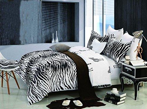 Zebra Print Bedding Twin front-162606