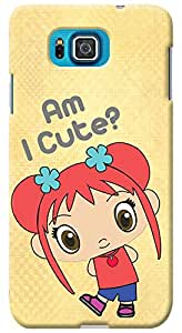 Kasemantra The Cute Girl Case For Samsung Galaxy Alpha