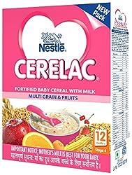 Nestlé CERELAC Infant Cereal Stage-4 (12 Months-24 Months) Multi Grain & Fruits 300g