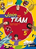 JOIN THE TEAM 5E 2007 + CD AUDIO-ROM Livre scolaire