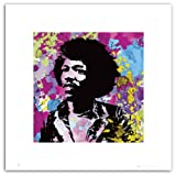 Posterboy 'Jimi Hendrix' Art Print Poster (SC0060)