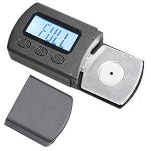 Signstek Blue LCD Backlight Digital Stylus Force Scale Gauge Tester for Long-Playing LP Turntable Phono Cartridge