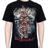 Slayer - World Painted Blood Skull T-Shirt
