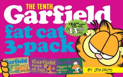 Garfield Fat Cat 3-Pack #10: Contains: Garfield Life in the Fat Lane (#28); Garfield Tons of Fun (#29); Garfi eld Bigger and Better (#30)) - Jim Davis