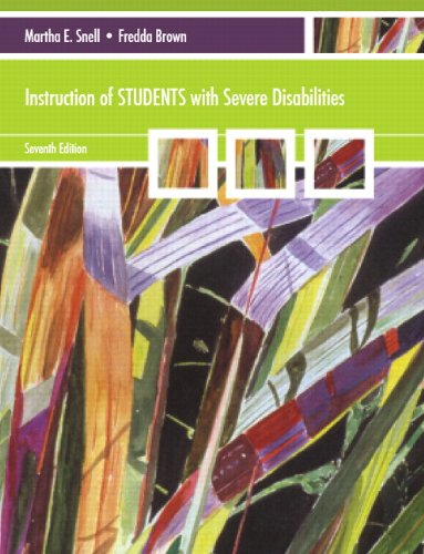 Instruction of Students with Severe Disabilities (7th...