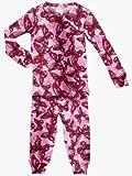 Conjunto de pijama-Butterfly-4Color: Mariposa Tamaño: 4(Baby/Babe/Infant-Little Ones)
