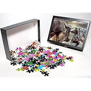 Photo Jigsaw Puzzle of DALI ENIGMA, th CENTURY. Enigma without End. Canvas by Salvador Dali from Granger Art on Demand