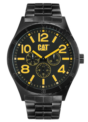 CAT Camden 48MM Mens Black PVD Day & Date, Seconds Sub Dial Watch NI.169.12.137