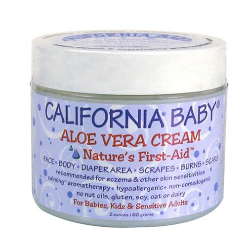 California Baby Aloe Vera Cream, 2 oz
