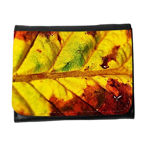 Cartera unisex // M00153769 Autunno sfondo close-up di colore // Small Size Wallet
