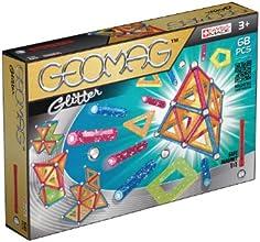 Geomag 533 - Panels Glitter, 68 Pezzi