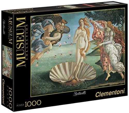 Clementoni 31430 - Puzzle Botticelli - Nascita di Venere, Collezione Museum, 1000 Pezzi