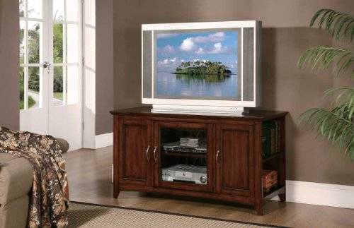 Cheap Homelegance Ian Lynman 48 Inch TV Stand in Cherry (8047-T)