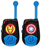 Avengers - Par de Walkie-talkies, color azul (Lexibook TW25AV)