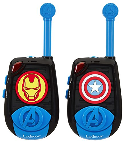 lexibook tw25av avengers 3d talkie walkies bleu. Black Bedroom Furniture Sets. Home Design Ideas