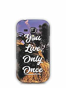 YuBingo You Live Only Once Designer Mobile Case Back Cover for Samsung Galaxy S Duos