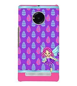 Angel Baby 3D Hard Polycarbonate Designer Back Case Cover for YU Yunique