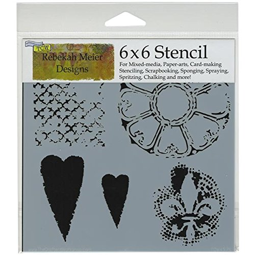 crafters workshop template 6 by 6inch gothic romance