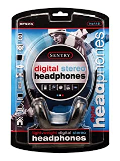 Sentry HO415 Lightweight Digital Stereo Headphones